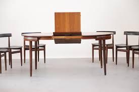 Danish Dining Room Table by Mid Century Danish Dining Set By Hans Olsen For Frem Røjle For