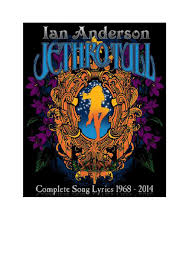 complete jethro tull and ian anderson lyrics 2014 by stormwatch