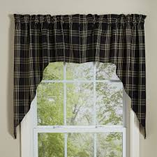 Checkered Kitchen Curtains The Best Decoration Kitchen Window Valances Small Curtains