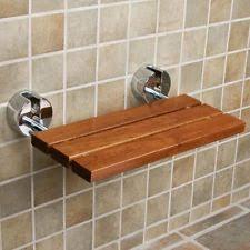 teak shower seat home u0026 garden ebay