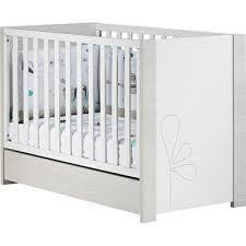 chambre opale blanc lit bébé opale 60 x 120 cm non transformable sauthon avis