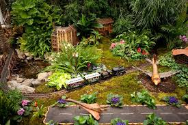 Train Show Botanical Garden by Saluting This Year U0027s Model Railroad Show Ny Daily News