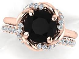 wedding diamond the 25 best black diamond wedding rings ideas on
