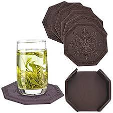 Unique Drink Coasters Amazon Com Drink Coasters Souvnear Rosewood Retro Wood Coaster