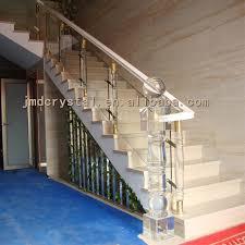 crystal glass stairs railings staircase designs indoor u0026 outdoor