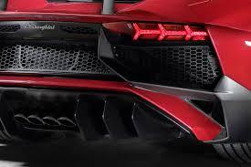 lamborghini aventador rear lights it s lambo lamborghini aventador sv powers into geneva 2015