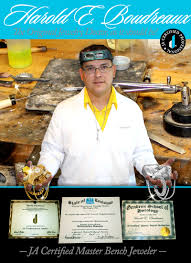 Bench Jeweler Certification Harold Edward Fine Jewelry Custom Tailor Made Jewelry U0026 Repair