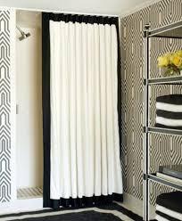 shower curtain ideas for small bathrooms curtains kohler shower tub combo showers ideas for small