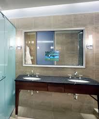 bathroom mirrors bathroom tv mirror decor color ideas fancy on