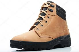 light brown combat boots light brown combat boot stock photo dimarik 112792192