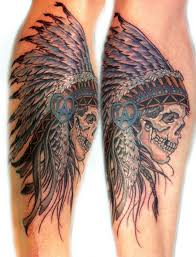 indian headdress tattoo on ribs native american skull with headdress tattoo would love without the