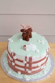 moose themed baby shower cake smalltowncookie com cake