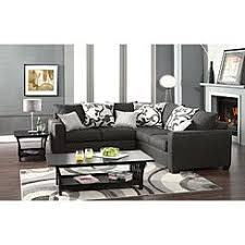 Charcoal Gray Sectional Sofa Gray Sectional Couches Sears