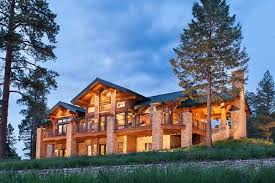 Rocky Mountain Log Homes Floor Plans Colorado Log And Timber Frame Homes By Precisioncraft