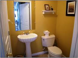 Bathroom Ideas Paint Colors by Endearing Half Bathroom Ideas Brown Design Paint Color Ideas Half