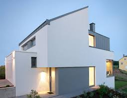 home design grey theme exterior minimalist modern home design using brown wood and glass