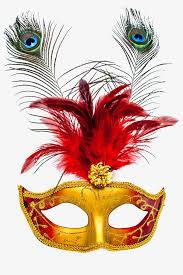 halloween mask halloween feather masks png and psd file for free