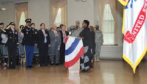 French And American Flags Senior Executive Service Leader Retires As Jmc Deputy To The