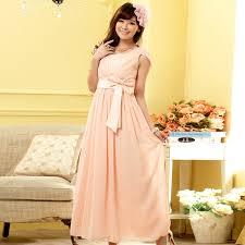 wholesale long evening dress plus size pink chiffon dress k9902
