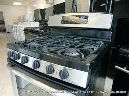 48 Inch Cooktop Gas Kitchen Best Ge Profile Pgs920sefss Slide In Gas Range Review