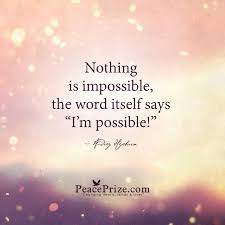 Audrey Hepburn Love Quotes by Nothing Is Impossible By Audrey Hepburn