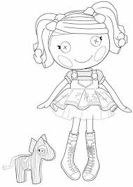 coloring pages spot spot splatter splash from lalaloopsy coloring page color