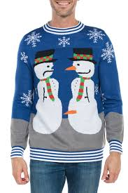 snowman nose thief ugly christmas sweater tipsy elves