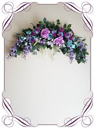 Wedding Arches And Arbors Casey Aqua Lilac Wedding Arbor Arch Table Decoration Flowers