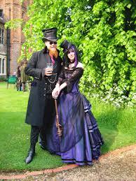 sparklyjem stunning steampunk style wedding