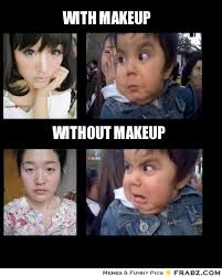 No Makeup Meme - women without makeup meme vizitmir com