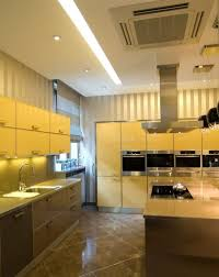 the sun shines this year round in yellow kitchen cabinets home