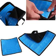 cooling gel pad for memory foam back cushion lumbar support pillow