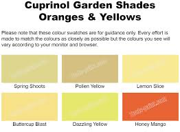 Shades Of Yellow Paint by Garden Shades Oranges U0026 Yellows 2 5l