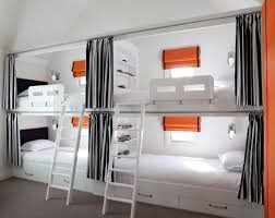 Wall Bunk Beds Most Suitable Bunk Beds For Saving Place In Small Bedroom