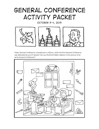mormon cartoonist your october 2015 general conference activity