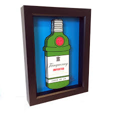 tanqueray print tanqueray gin home decor 3d pop art liquor
