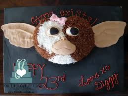 novelty birthday cakes gizmo novelty birthday cake cakecentral