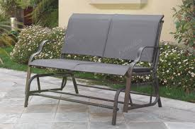 poundex associates item p50118 steel frame outdoor glider loveseat