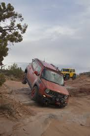 moab jeep safari daystar products international jeep renegade hitting the trails in
