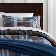 Plaid Bed Set Plaid Deluxe Comforter Set With Comforter Set