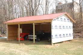 building a pole barn redneck diy