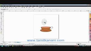 corel draw x4 tutorials tamil tamil computer tutorial creating logo in corel draw mp4 youtube