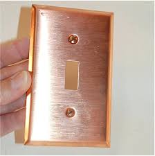 cool light switch covers copper light switch plates cool light switch covers copper wanker