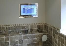 bathroom tv ideas bathroom tv mirror glass television systems integrated solutions