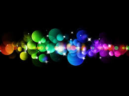 blurred colored lights illumination background stock