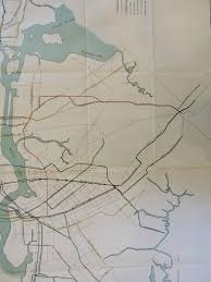 Subway Map by This 1927 City Subway Map Shows Early Transit Plans 6sqft