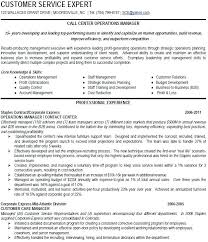 call center manager skills resume supervisor sample example