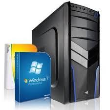 pc bureau windows 7 shinobee pc unité centrale pour ordinateur de bureau processeur