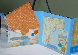 baby boy scrapbook album baby mini album
