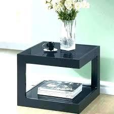 modern black end table modern black coffee table coffee table modern black e mordotter co